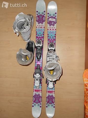 K2 Ski Eule 119 mit pass. Skischuhen Head 230/235