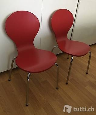 Chaises rouge
