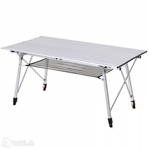 Alu tavolo da campeggio roll table (Consegna gratuita)