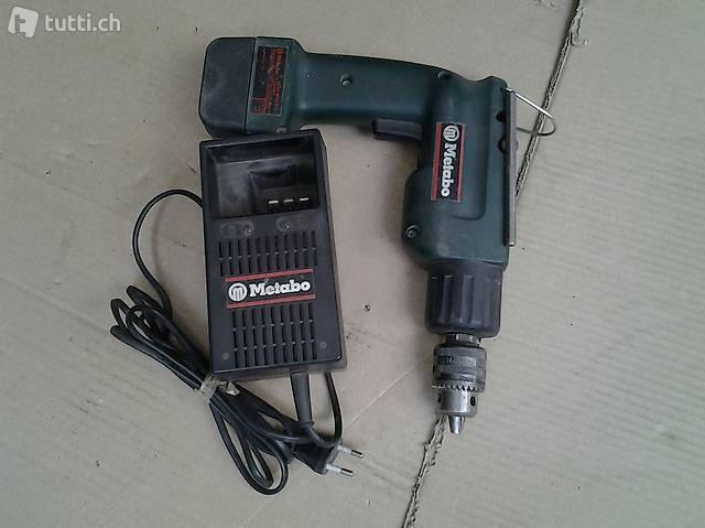 perceuse metabo avec chargeur