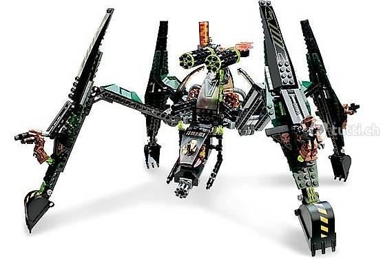 Lego Exoforce 7707 #4 Striking Venom, Matrix