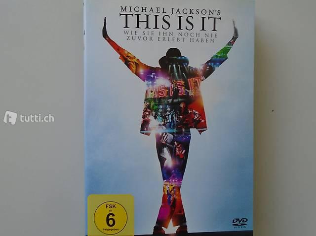 Michael Jackson, DVD