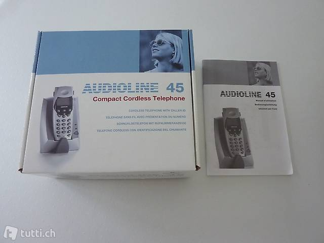Festnetztelefon AUDIOLINE 45