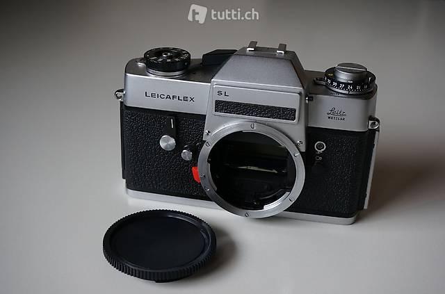 Leica Leitz Wetzlar Leicaflex SL Body Chrom TOP Zustand