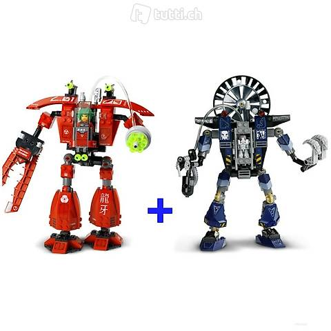 Lego 2x Exoforce 7701 & 7703