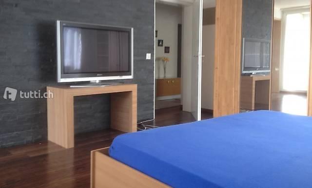 Möbliertes Zimmer an zentraler Lage nähe Zürich/Spreitenbach