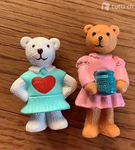 2 Figurinen Bären
