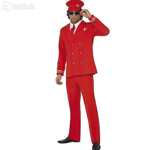 Vestito di carnevale aviatore