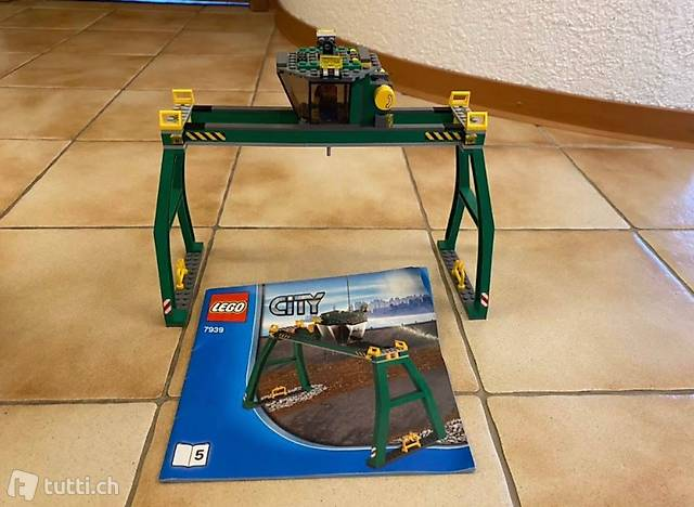 Lego city remonte charge