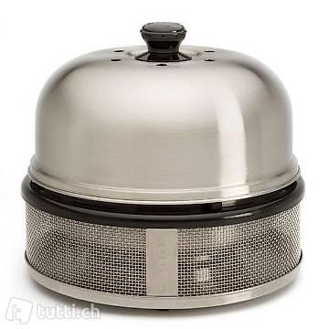 COBB BBQ Grill Premier Compact Silbern
