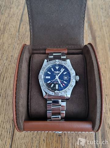 Breitling Avenger II GMT Military Watch