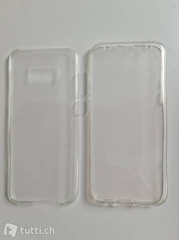 Samsung S8+, Schutzhülle, transparent