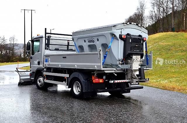 Hilltip IceStriker Streuer für leichte LKW