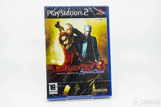 Devil May Cry 3 Special Edition PS2 NEU&OVP (sealed)