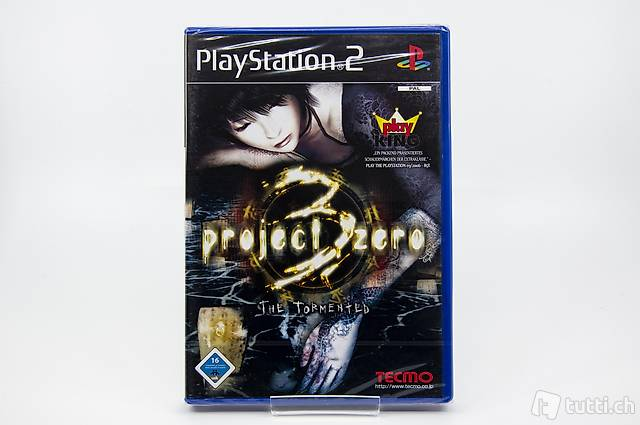 Project Zero 3: The Tormented PS2 NEU&OVP (sealed)