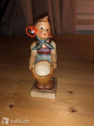 Hummel Figur Nr 73 Fleissiges Lieschen Little Helper