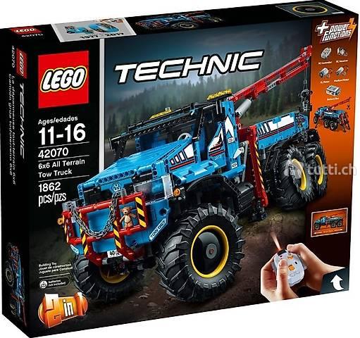 Lego OVP Technik 42070 6x6 All Terrain Tow Truck