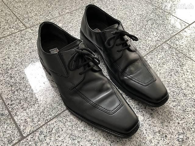 Neuwertige Echtleder Herren Business Schuhe in Bern kaufen