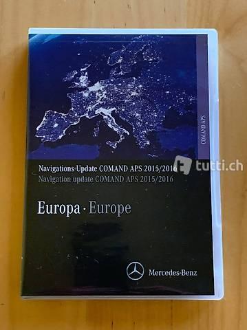 Navigations-Update COMAND APS 2015/2016 Europa