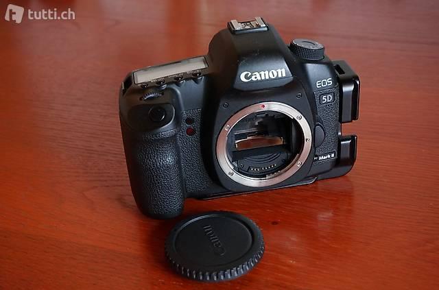 Canon EOS 5D Mark II Body mit L-Winkel Really Right Stuff