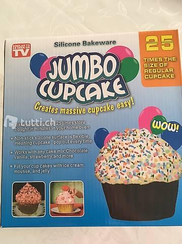 Moule silicone cupcake géant