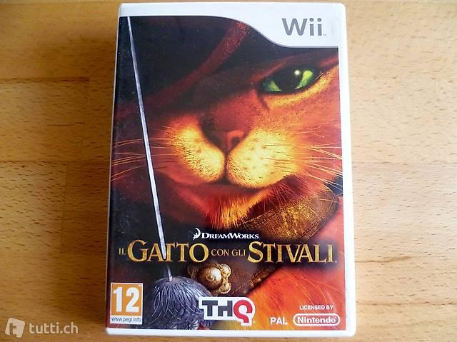 Il gatto con gli stivali - Nintendo Wii
