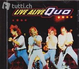 STATUS QUO - Live Alive Quo  (Rock CD / LIVE)