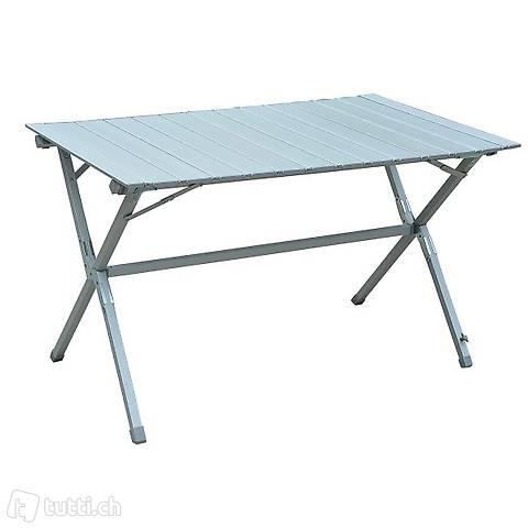 Tavolo da campeggio in alluminio roll (Consegna gratuita)