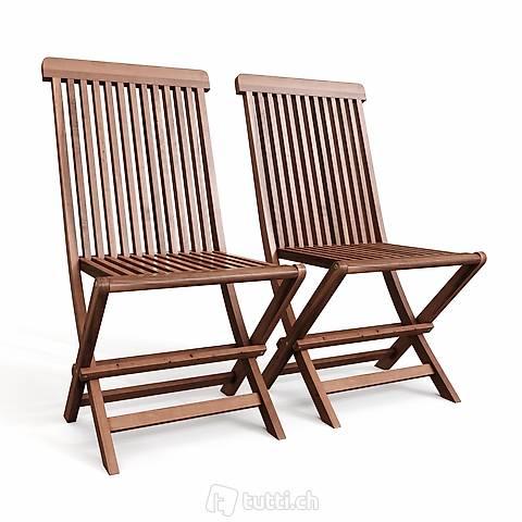 Sedia da giardino in legno di acacia (Consegna gratuita)