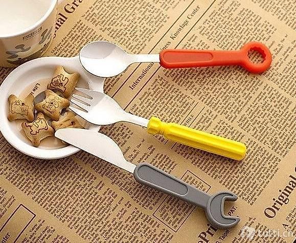 Besteck Set für Kinder Werkzeug Tool Bit Werkzeugkoffer
