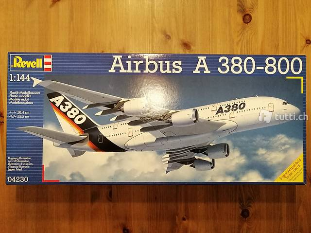 1:144 Revell 04230 - Airbus A 380-800 - Modellbausatz / OVP