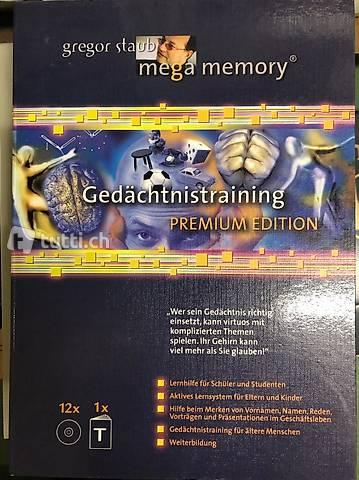Gedächtnistraining Mega Memory Gregor Staub Premium Edition