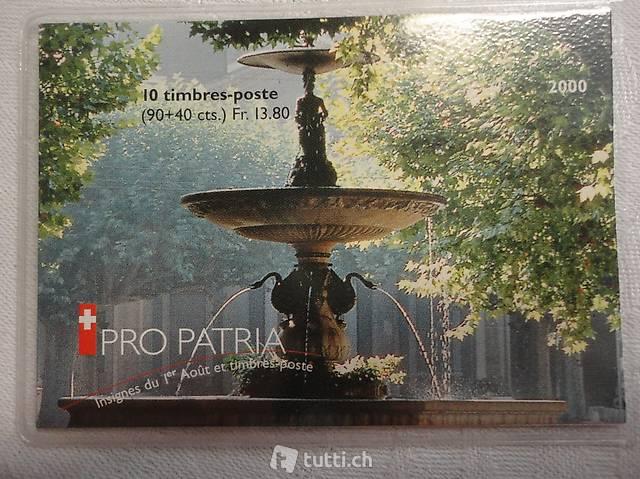 Ortsbilder 2000 Pro Patria, Carouge GE ein historischer Mark