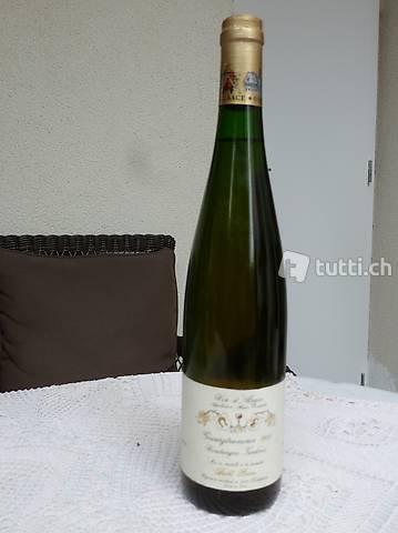 Exklusive Weissweinrarität Gewürztraminer 1988