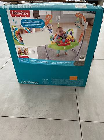 Fisher-Price jumping spring rainforest