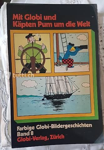 Taschenbuch mit Globi und Käpten Pum.... 1.Ausgabe 1974