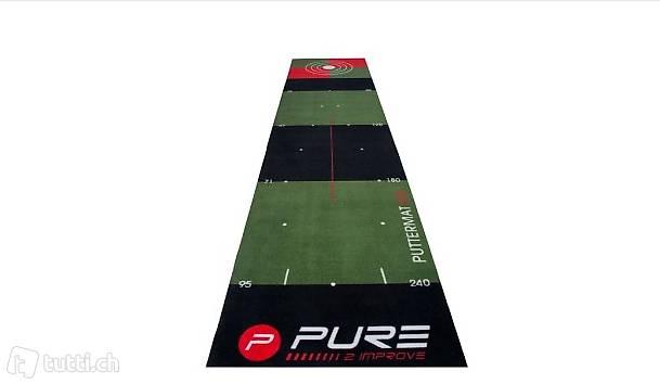 Golf Puttingmatte Masse: 300 x 65 cm