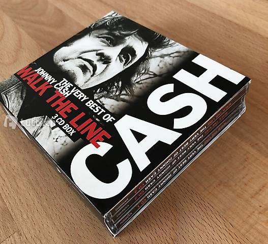 Johnny Cash; Walk the line, 3 CDs inkl. Versand