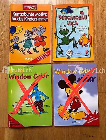 Bastelbücher Window Color