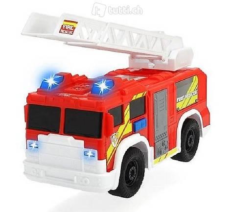 Dickie Feuerwehrauto mit Leiter, Licht&Sirene NEU