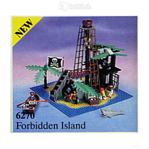 Lego Pirates 6270 Forbidden Island