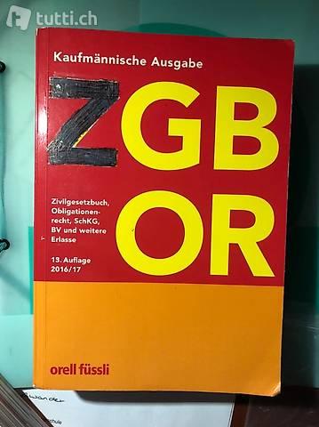 ZGB OR 13. Auflage 2016/17