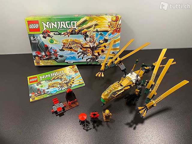 LEGO Ninjago Goldener Drache 70503