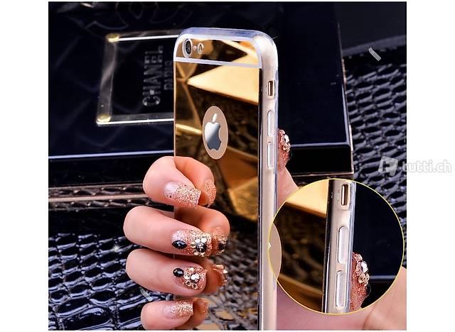 Hülle / Stecke für Apple iPhone 7 - Vergoldeter Spiegel