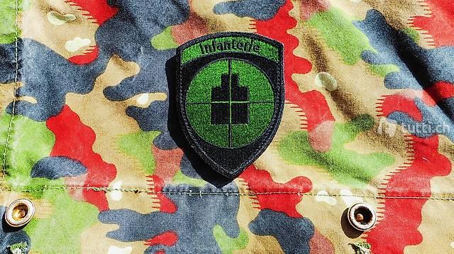 Infanterie B Badge alle ink.porto