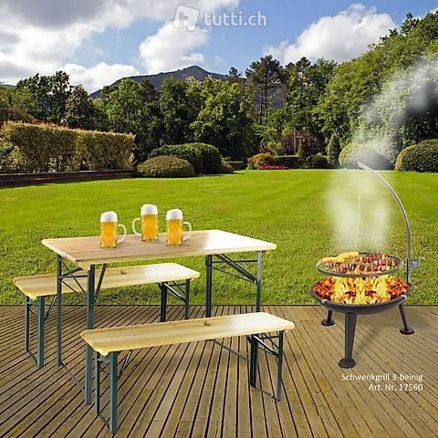 Set tenda da birra Schwabing 120x60 (Consegna gratuita)