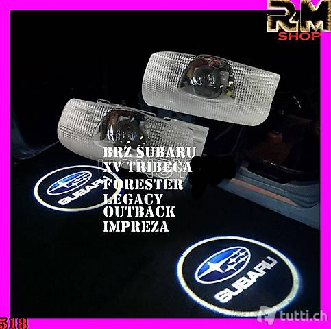 Subaru Tür-Logo leuchtet