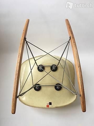 All orig.1st Gen. Zenith Eames Herman Miller Rope Edge Chair