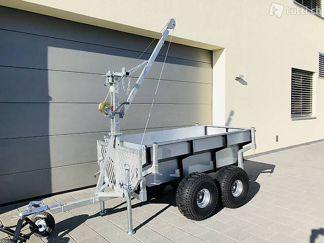 Quad ATV Anhänger, Kipper, Rückewagenan