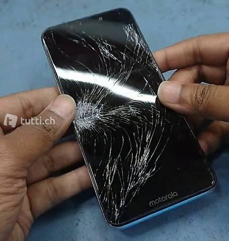 Samsung S8+ S9 Display ist gebrochen